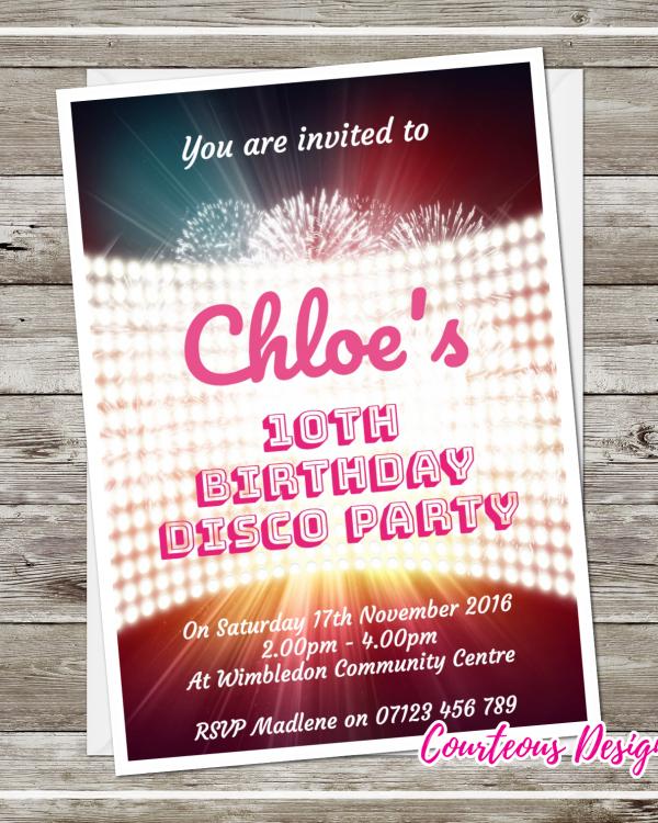 Disco Party Invitations Product Categories Suavecards Com