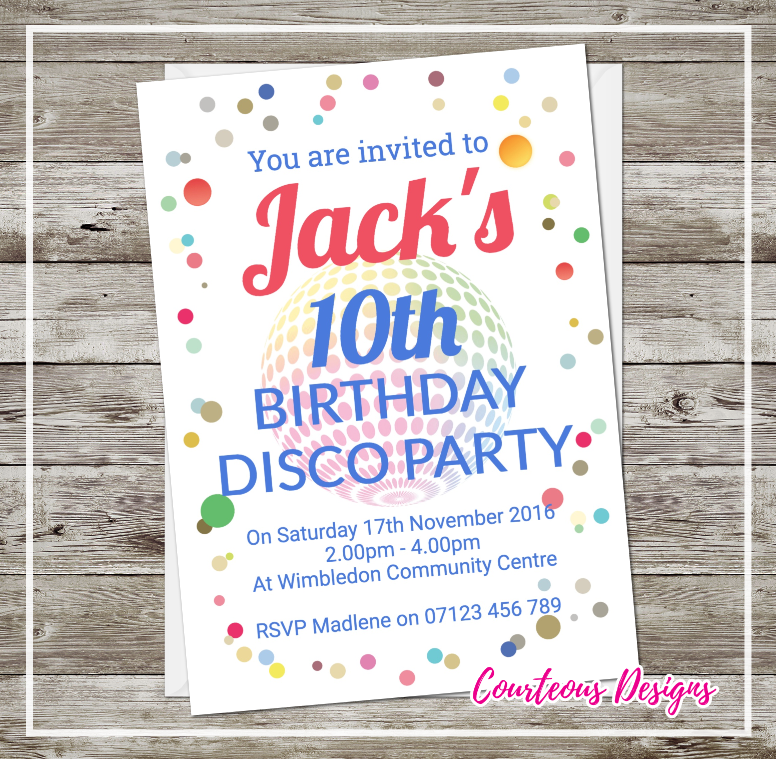 Disco Party Invitations | Product categories | SuaveCards.com